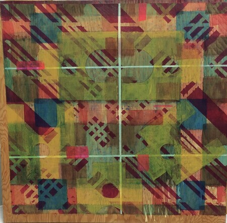Colour Squared Part 1 (diptych)