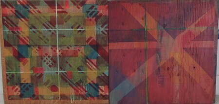 Colour Squared (diptych)